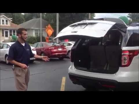 How To Adjust Liftgate Height In The Ford Explorer Youtube
