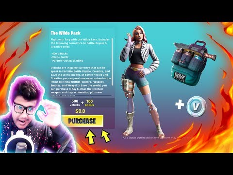 How To Get The Wilde Pack For FREE in Fortnite (FREE Wilde Skin)