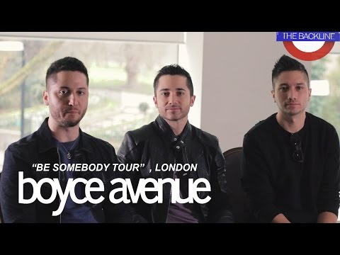 Boyce Avenue interview on The Backline show (Roundhouse , London)