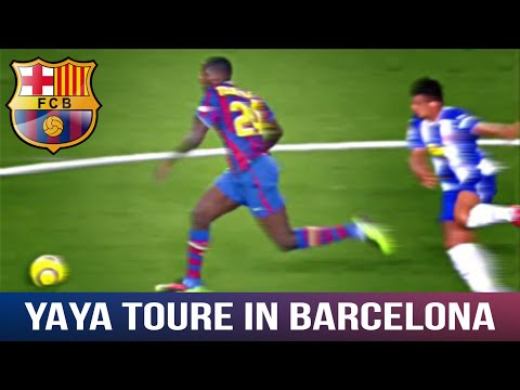 Yaya Toure was a BEAST for Barcelona