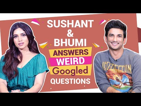 Sushant Singh Rajput & Bhumi Pednekar react to weird Googled questions | Bollywood | Pinkvilla Mp3