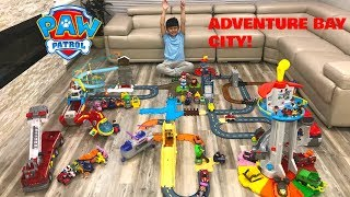 Biggest Paw Patrol City Adventure Bay / Pretend Play Tbtfuntv