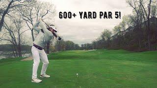 World Long Drive Champion Plays Golf Ep:05 Part 1- River Creek Golf Club Back 9