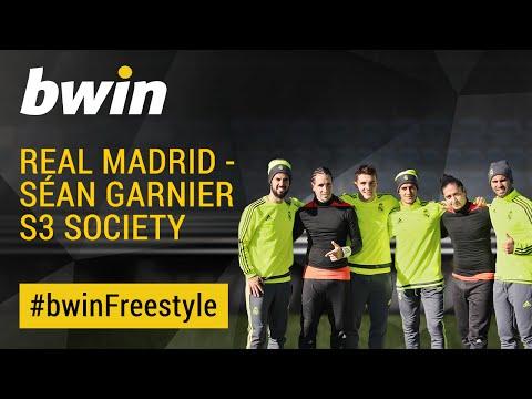 Real Madrid   Séan Garnier S3 Society   #bwinfreestyle