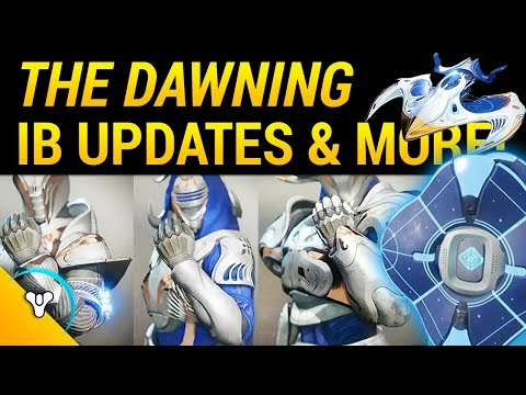 Season 2: The Dawning, Iron Banner, Armor Ornaments, Clarion Call, Bright Engrams, & MORE!
