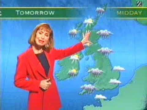 Sian Lloyd - weather out-take