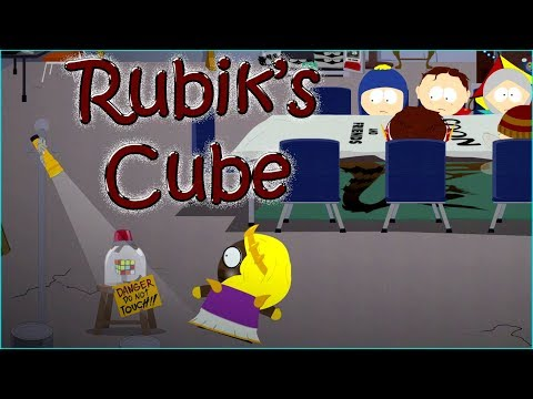 Destroying Rubik's Cube before Coon and Friends - South Park The Fractured But Whole Game