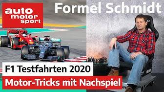 Formel Schmidt zu den Testfahrten 2020| auto motor und sport