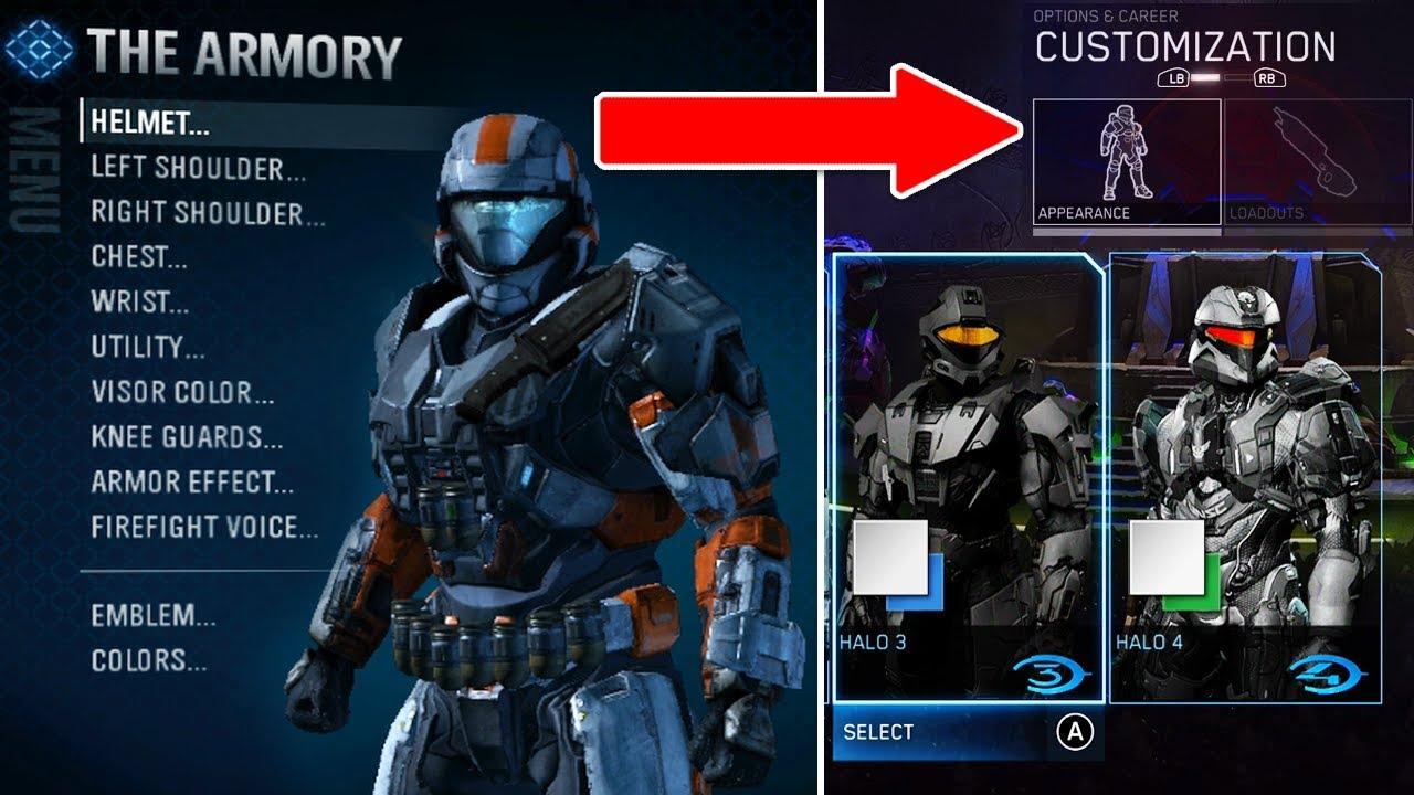 So Halo Mcc Is Getting Reach Armor Customization