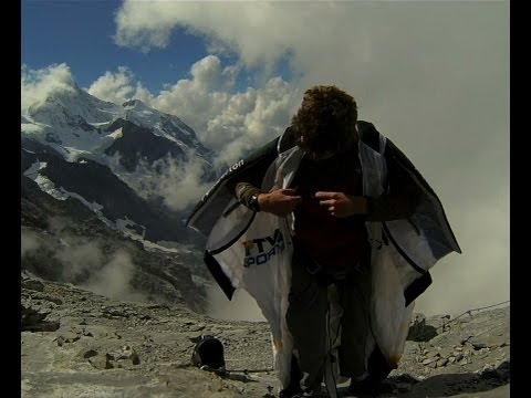 Wingsuit BASE Jump from the North Face of Eiger