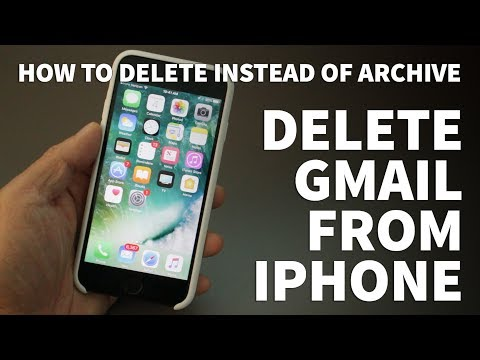 How to Delete Gmail from iPhone – Delete Gmail Instead of Archive on iPhone