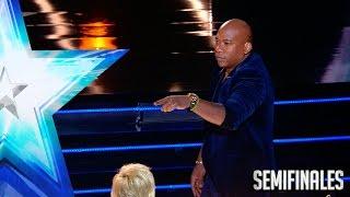 ¡Lo ha vuelto a hacer! Joel no hace magia… ¡hace brujería! | Semifinales 1 | Got Talent España 2017
