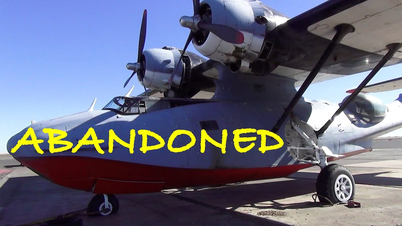 ABANDONED PBY Catalina