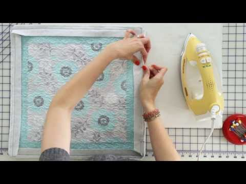 How to Hand Bind a Quilt featuring the Binding Tool - Fat Quarter Shop