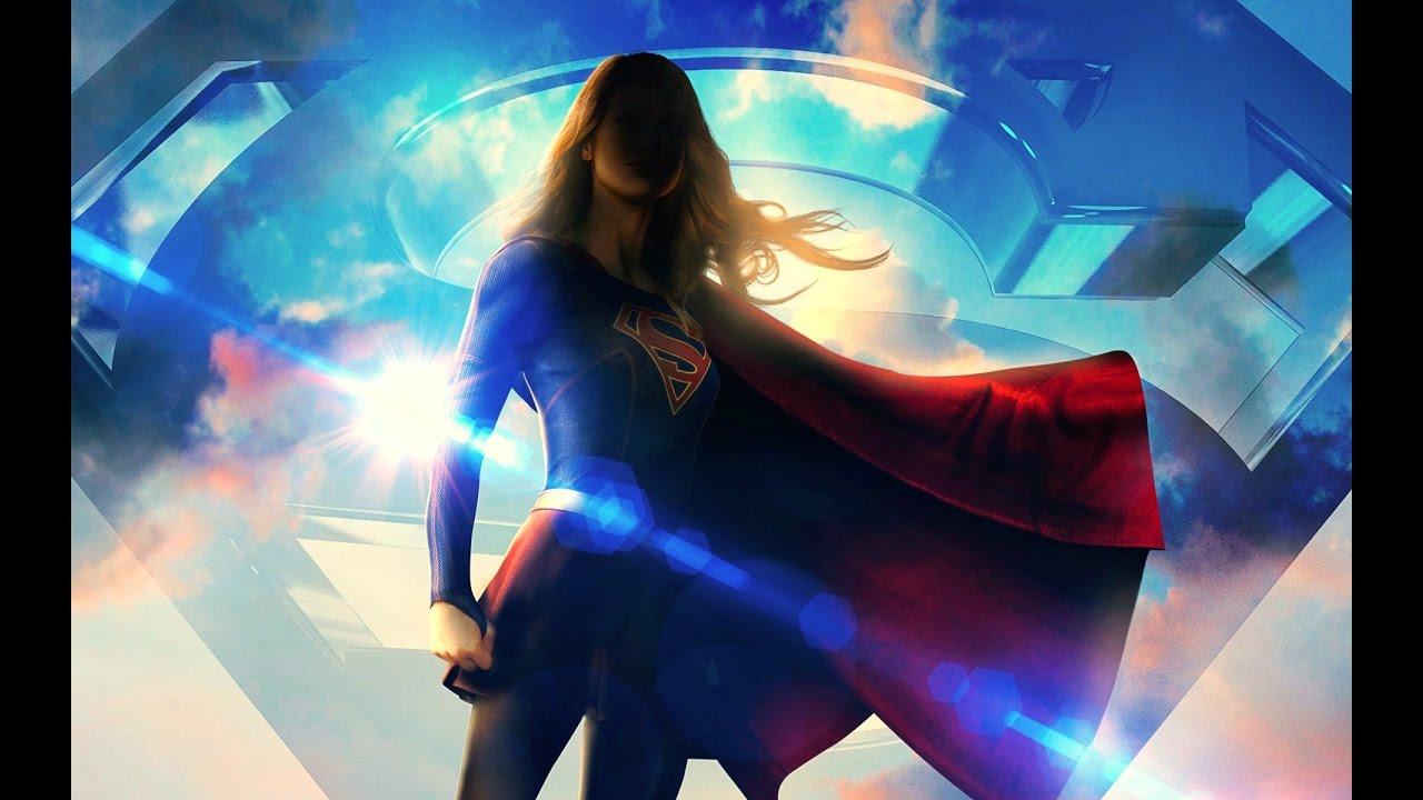 Superhero Wallpaper Hd Supergirl Superhero Amv Youtube