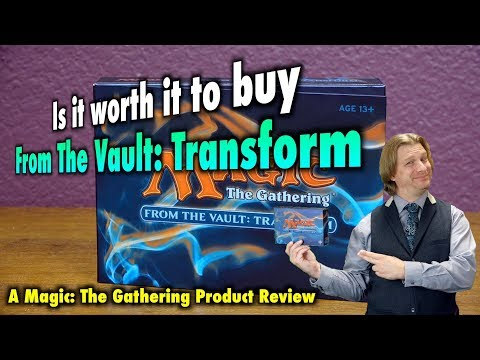 MTG  Is it worth it to buy From The Vault: Transform? A Magic: The Gathering Review and Unboxing