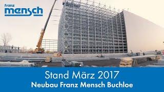 Großbaustelle - Neubau Franz Mensch GmbH in Buchloe