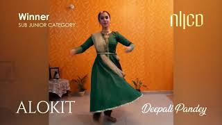 First runner up (Sub-Junior) of ALOKIT 2020 - Deepali Pandey