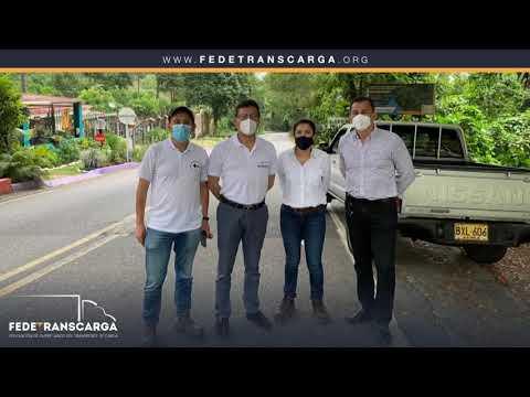 Fedetranscarga - Gestión de visita técnica vía Villavicencio (Rompe Ejes)