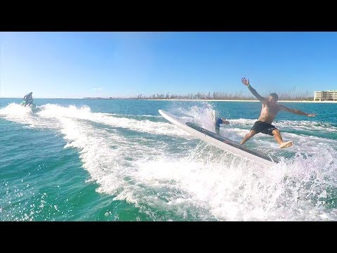 Download Youtube: One Cracked Rib & One Broken Finger - Double Surfing!!