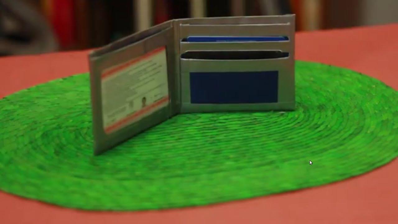 C mo hacer una billetera youtube - Como hacer una mosquitera ...