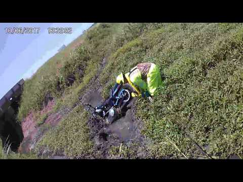 MOTORCYCLE MUD RECOVERY