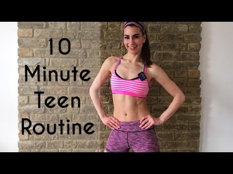 Teens | Full Body 10 Minute Teen Routine