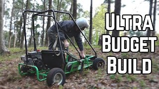 $28.25 Junkyard Kart Build and Race!