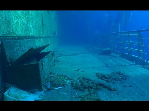 Costa Concordia: New video of the inside of sunken cruise sh