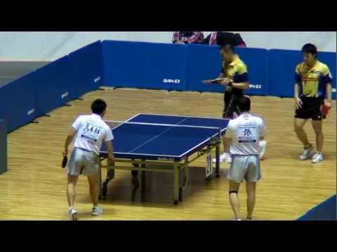 Japan Table Tennis MD;Chan,Takakiwa vs Tasei,Matsudaira 2013.1.18