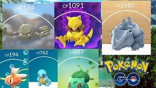 Pokemon Go High IV Evolution Sprees!