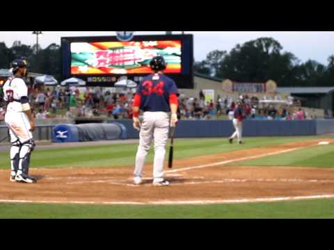 Bryce Harper hits his 6th Minor League home run