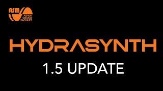 Hydrasynth 1.5 Update