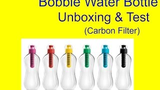 Really Cool Carbon Filter Water Bottle Guys. There was actually car...