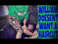 watch he video of WILLIAM DOESEN'T WANT A HAIRCUT!!! (RAGE)