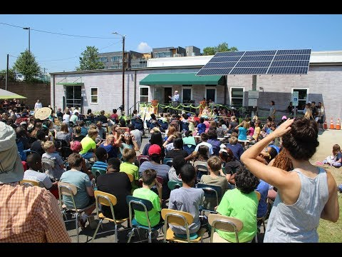 NC GreenPower Solar School Ribbon Cutting Central Park School for Children in Durham