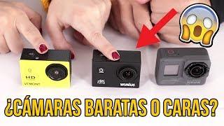 Cámara Deportiva BARATA VS CARA ¿Merece LA PENA?