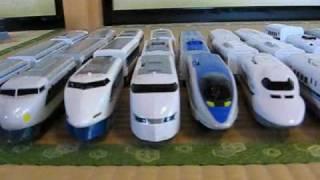 プラレール自宅保有全車両2009初春 thumbnail