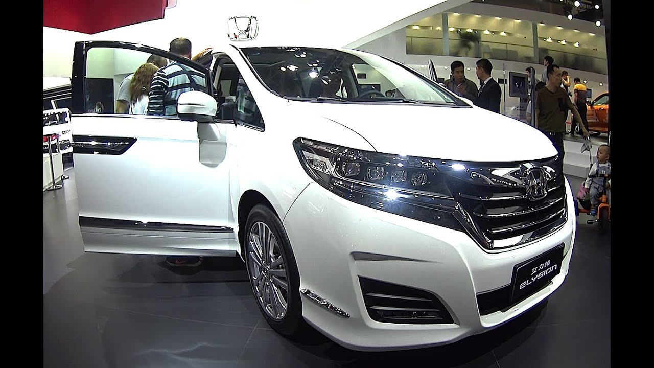 Biggest Honda VAN Honda Odyssey Elysion 2016 2017 Model The 2016