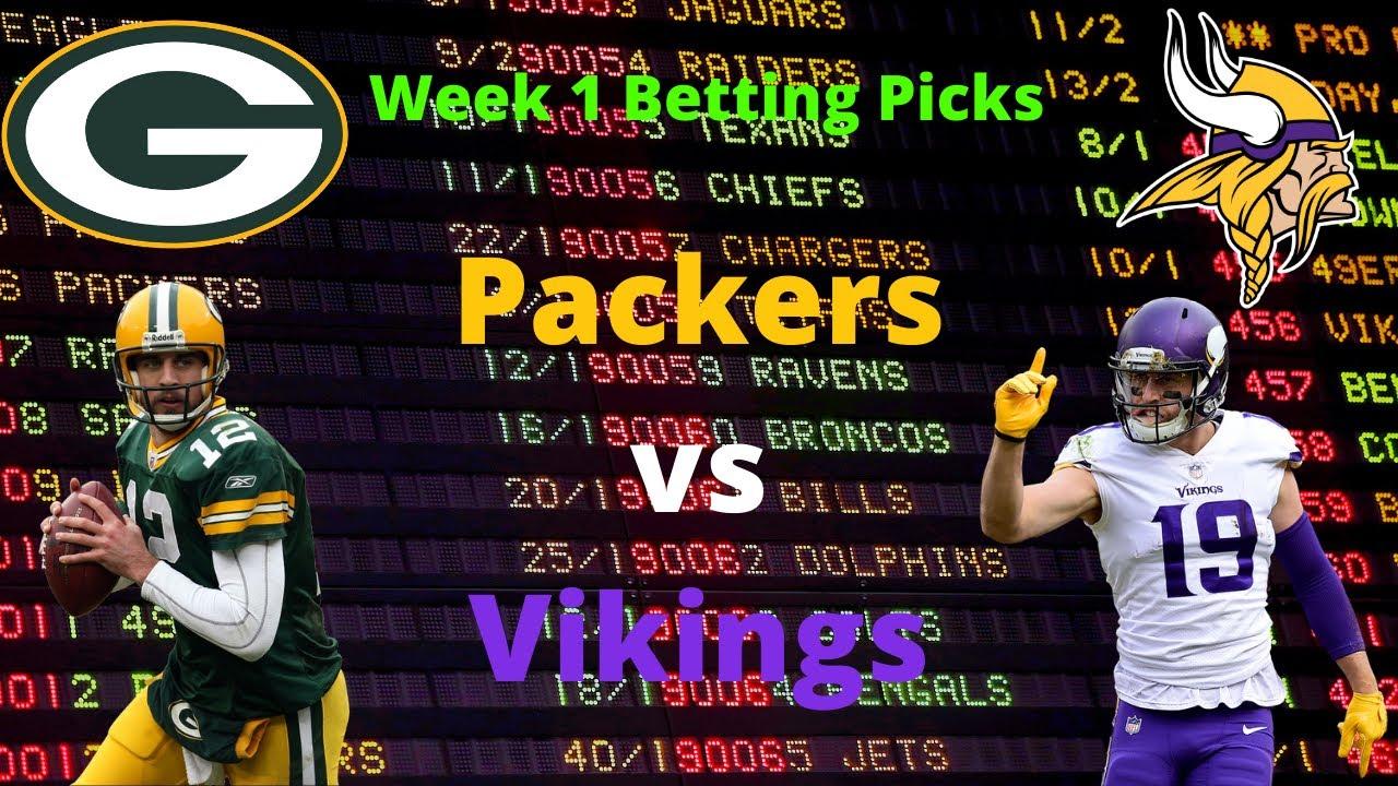 packers vikings betting predictions nfl