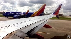 Takeoff From Houston William P. Hobby Airport (HOU)- Southwest Airlines (HD) (60FPS)