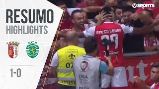 Highlights | Resumo: Sp. Braga 1-0 Sporting (Liga 18/19 #5)