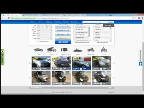 Live Webinar: Buying cars from USA, Live Auction Sale