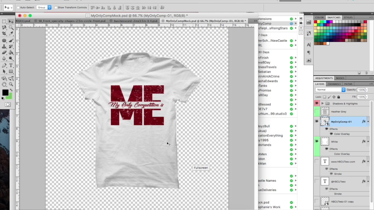HOW TO DESIGN A T-SHIRT IN ILLUSTRATOR (TEXT BASED) [DESIGN SIDE ...