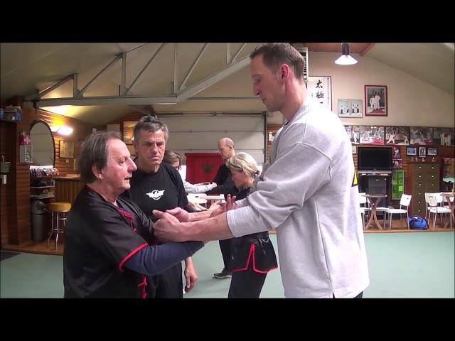 Traditionel Wing Chun Grandmaster Walter Toch
