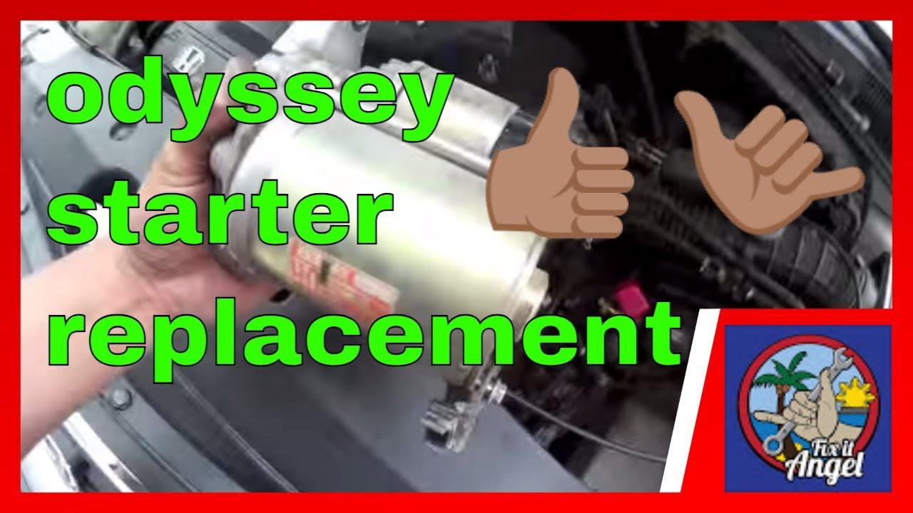 medium resolution of 2011 odyssey engine diagram data diagram schematicsimple starter motor replacement honda odyssey fix it angel