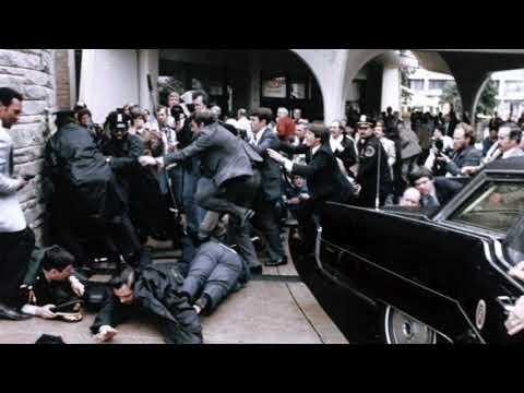Ronald Reagan was shot by John Hinckley 38 years ago