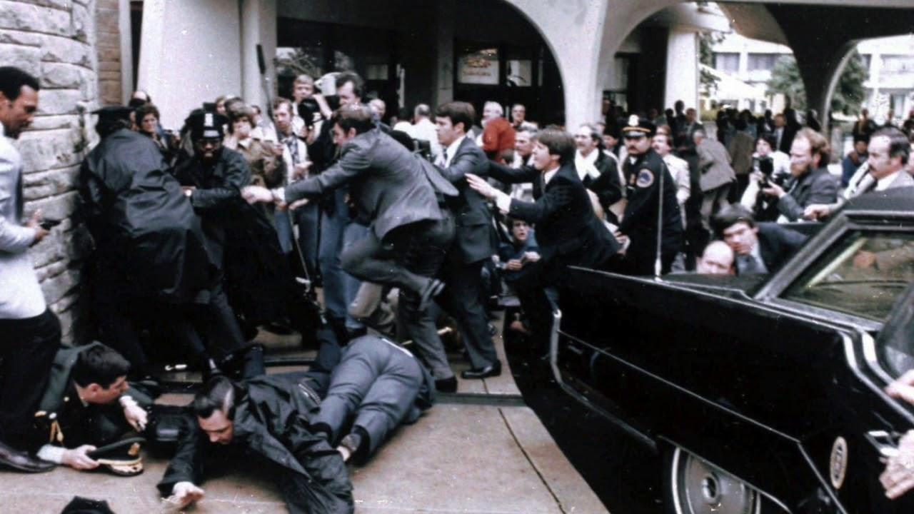 Ronald Reagan was shot by John Hinckley 38 years ago - YouTube
