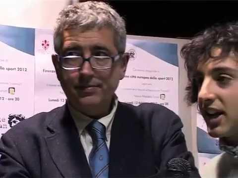 """Interviste – """"Firenze città europea dello sport"""" – Mandela Forum 13 febbraio 2012"""