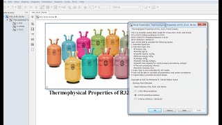 Thermophysical Properties of R32 | R125 | R410a | Matlab | Simulink Model